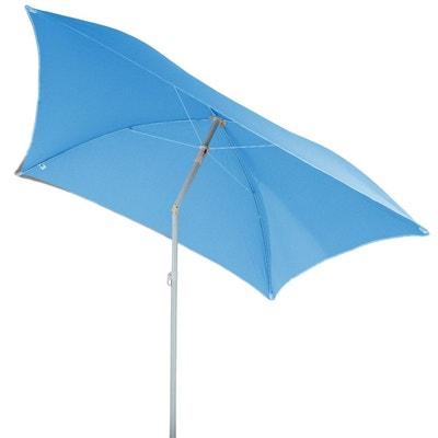7ed7cf4f657 Parasol de plage carré Hélenie - L. 180 x l. 180 cm Parasol de
