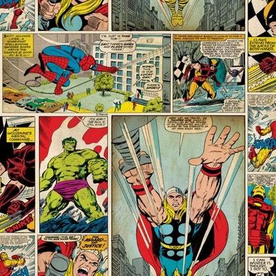 Papier Peint Marvel La Redoute