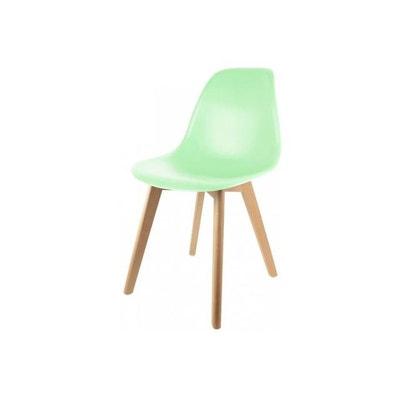 Chaise Scandinave Coque Vert Pastel NORWAY DECLIKDECO