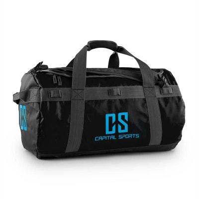 b832c0aabe Journ Sac de sport 60l sac à dos marin imperméable -noir Journ Sac de sport