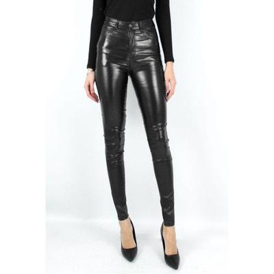pantalon simili cuir la redoute