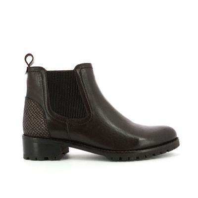 4fa7f41127b Boots cuir Titi KICKERS. «
