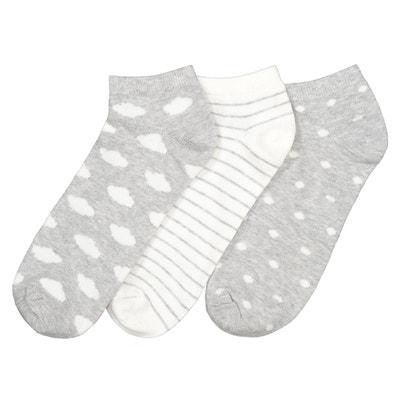 39c622ca843 Socquettes fantaisie (lot de 3 paires) Socquettes fantaisie (lot de 3  paires)