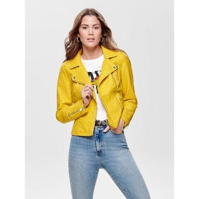 Veste jean jaune h&m