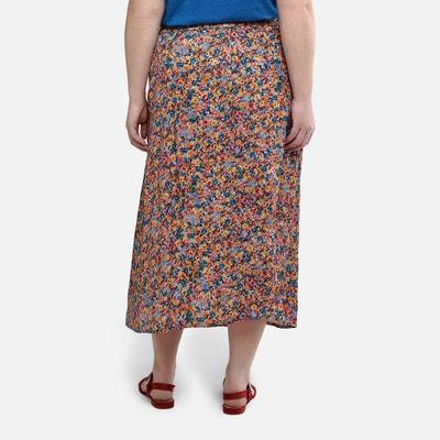 GWELL Femme Jupe Crayon Longue en Laine Automne Hiver Longue Grande Taille