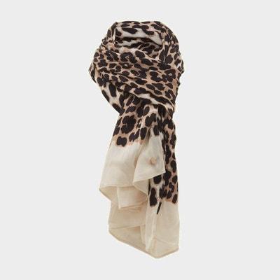 Écharpe à imprimé léopard - LILA Écharpe à imprimé léopard - LILA DUNE  LONDON 59b40da987b2
