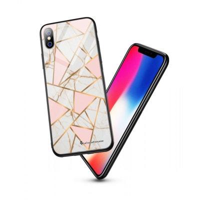 coque effet marbre iphone xs