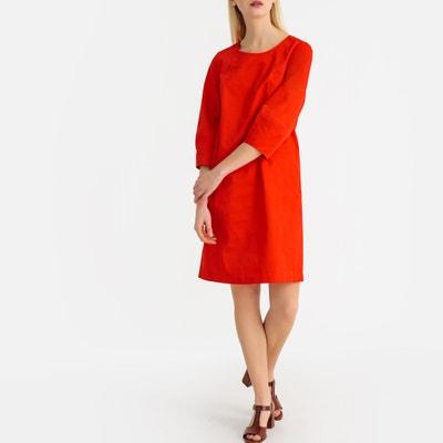 d65be77c29034b Halflange jurk met 3 4 mouwen LA REDOUTE COLLECTIONS