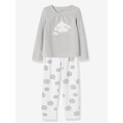 3d48342964ab3 Pyjama velours fille VERTBAUDET