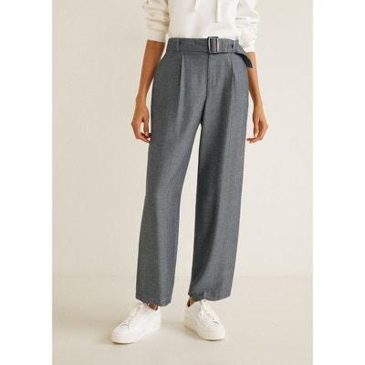 5d629ed9ec96 Pantalon chevrons ceinture Pantalon chevrons ceinture MANGO