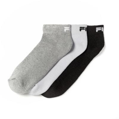 eac71a51fbfcd Lot de 3 paires de chaussettes basses FILA