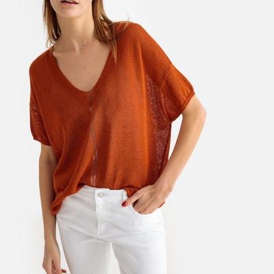 7c0bc79559b2 Pull orange femme