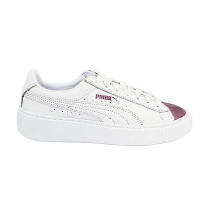 basket puma platform blanche