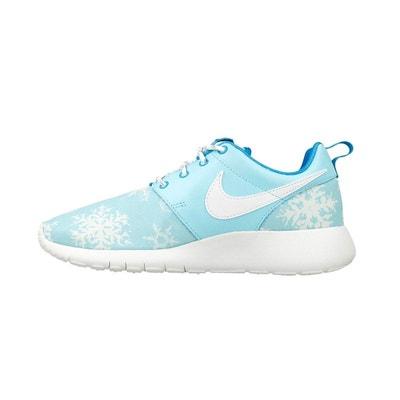 hot sale online 0eeb6 0595e Basket Nike Roshe One Print Snowflake Junior - 677784-401 Basket Nike Roshe  One Print