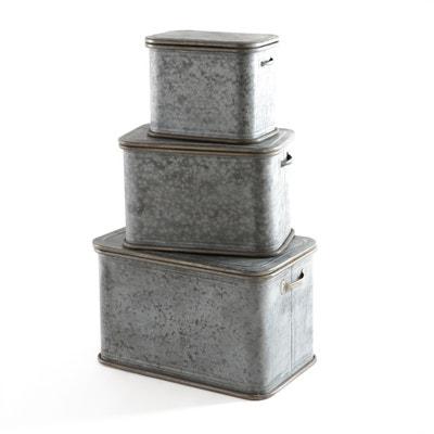 3 dozen in zink Nadym 3 dozen in zink Nadym LA REDOUTE INTERIEURS