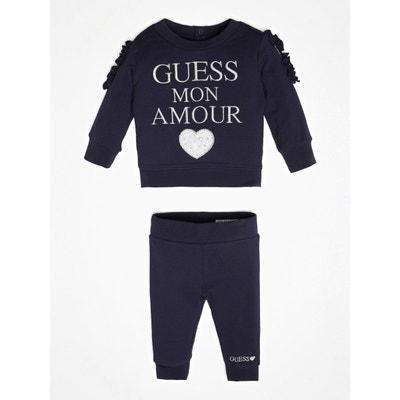 4bed2e049409c Set Sweat-shirt   Pantalon Logo GUESS KIDS