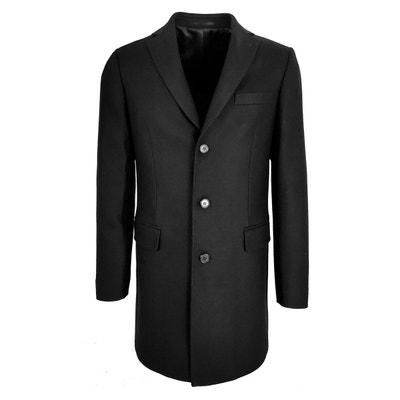 Manteau homme cachemire bleu marine | La Redoute