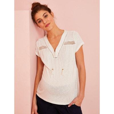 f3b0e6f83cf73 Tee-shirt grossesse, chemise femme enceinte en solde | La Redoute