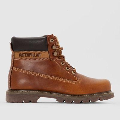 a60734f816bee7 Boots en cuir Colorado CATERPILLAR