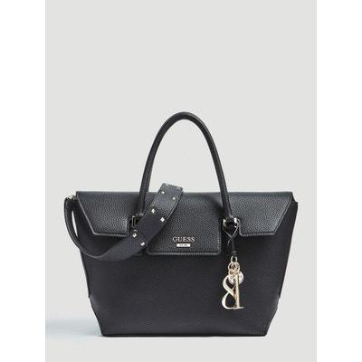 sac noir rigide femme