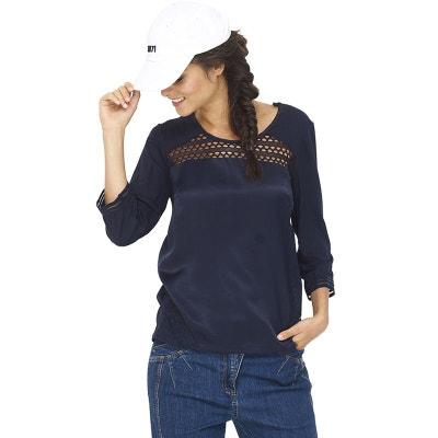 T-shirt dentelle manches longues T-shirt dentelle manches longues MADO ET  LES AUTRES 9244bf851a2