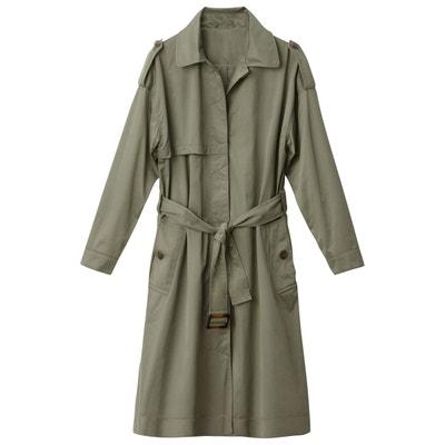 Trench coat vert   La Redoute