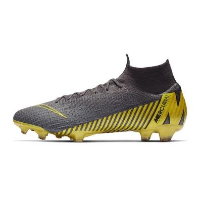 huge discount 8c7e5 d394f Chaussures football Nike Mercurial Superfly 360 VI Elite DF FG GrisJaune  Chaussures football Nike