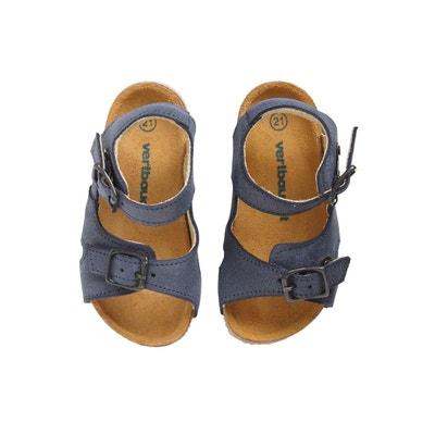 8c9ea531d90a0 Sandales anatomique bébé garçon en cuir VERTBAUDET