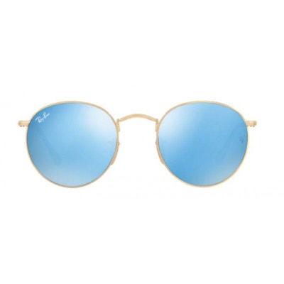 bc04974b62075 Lunettes de soleil pour homme RAY BAN Bleu RB 3447N 001 90 47 21