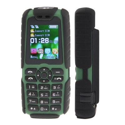 Téléphone mobile tout terrain waterproof antichoc lampe torche Vert Téléphone  mobile tout terrain waterproof antichoc lampe. Soldes cdd972f3e2e