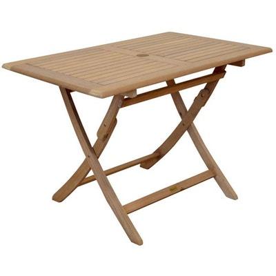 Table teck pliante | La Redoute
