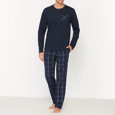 Pyjama in jersey met lange mouwen Pyjama in jersey met lange mouwen LA REDOUTE COLLECTIONS
