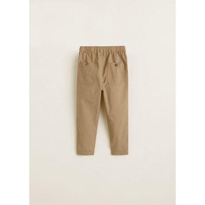 9b12cc5e1607c Pantalon coton taille élastique Pantalon coton taille élastique MANGO BABY