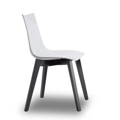 Chaise Design Avec Pieds Bois Wenge