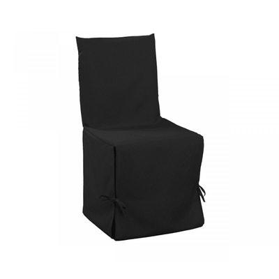 Housse De Chaise Noire DOUCEUR DINTERIEUR