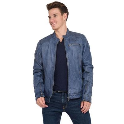 nouveau produit d1ad8 b2ecf Blouson, veste en cuir homme KAPORAL | La Redoute