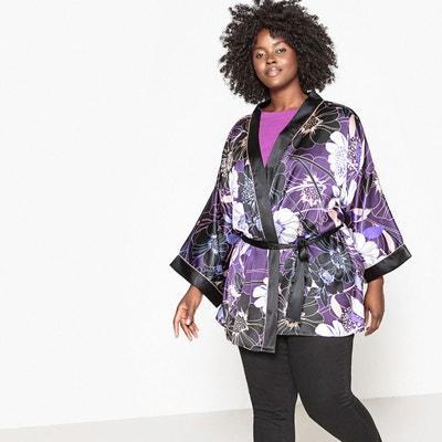 veste kimono femme la redoute. Black Bedroom Furniture Sets. Home Design Ideas