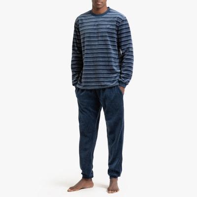 Pyjama in fluweel Pyjama in fluweel LA REDOUTE COLLECTIONS