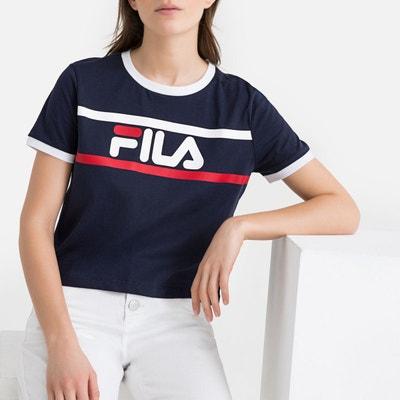 ee82fc179370a T-shirt imprimé devant Ashley Cropped Tee FILA