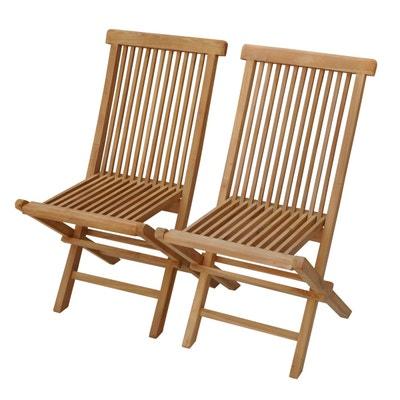 Chaise de jardin en teck | La Redoute