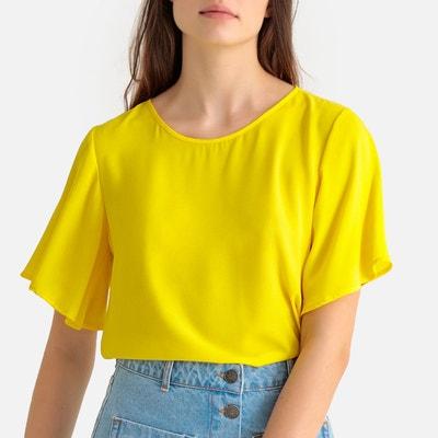 dcb70c1db59 Top jaune femme