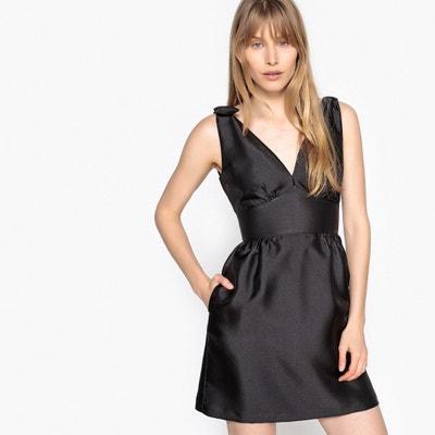Vestido formal con cuello de pico y lacito en el h LA REDOUTE COLLECTIONS fe6064459c87