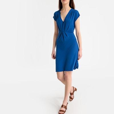 ab43d6779f6fe3 Korte wijd uitlopende jurk