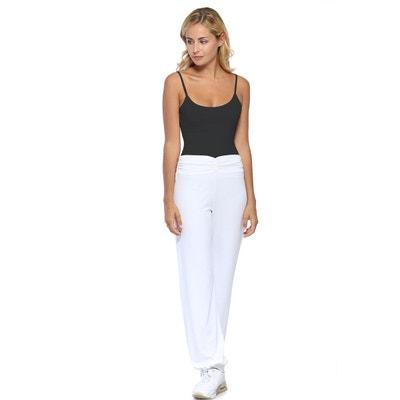 Pantalon Fluide Blanc Femme La Redoute