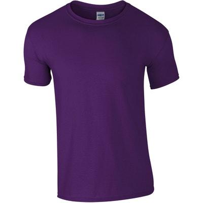 a63da170bd2bd T-shirt manches courtes col rond T-shirt manches courtes col rond GILDAN