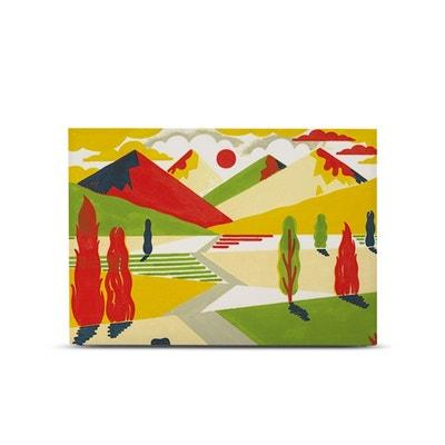 ... Housse décorée - Montagnes Tête de lit myQuintus ready et. MY QUINTUS 75f09ae50cba