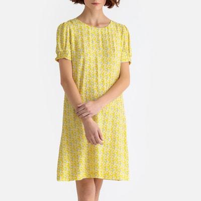 Floral Print Tie-Back Dress Floral Print Tie-Back Dress LA REDOUTE COLLECTIONS