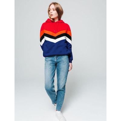attrayant et durable magasin officiel prix le plus bas Sweat multicolore femme | La Redoute