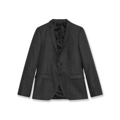 Veste de costume 100% laine coupe droite Veste de costume 100% laine coupe  droite 5719bed3acb