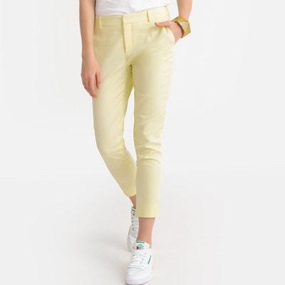 Pantalon jaune femme  cf6248ffecc